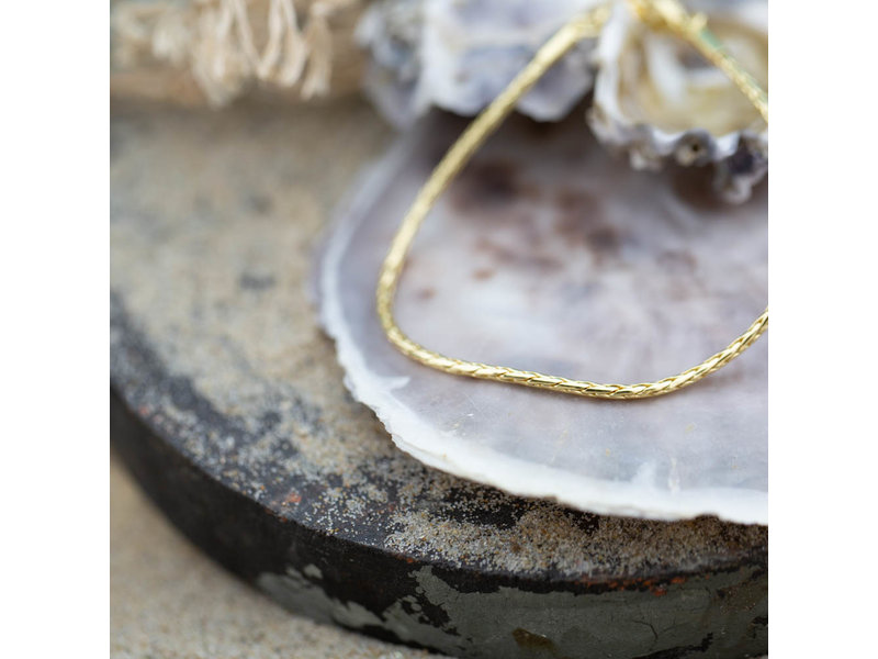 Biba Schakel armband snake  goud of zilver