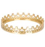 IXXXI Royal crown 1mm goud