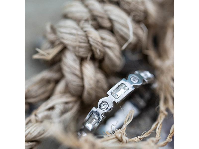 IXXXI Excellent ring zilver ixxxi