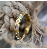 IXXXI Excellent ring goud ixxxi