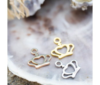 IXXXI Hanger kroon zilver, goud of rosegoud