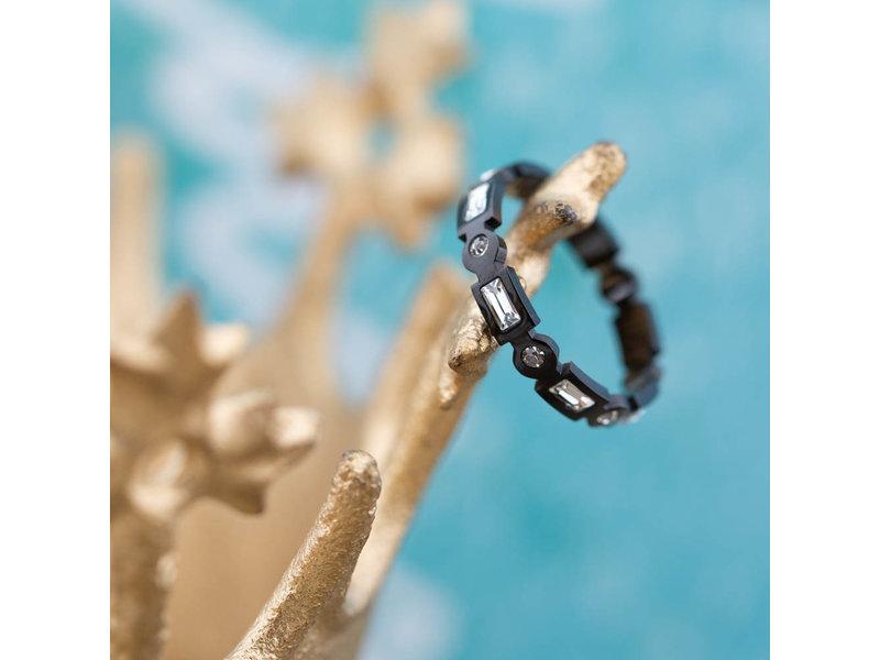IXXXI Excellent ring zwart ixxxi