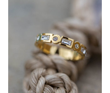 IXXXI Excellent ring goud