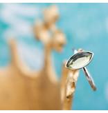 IXXXI Royal Diamond Zilver aanschuifring ixxxi