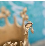 IXXXI Royal Diamond Champagne aanschuifring ixxxi