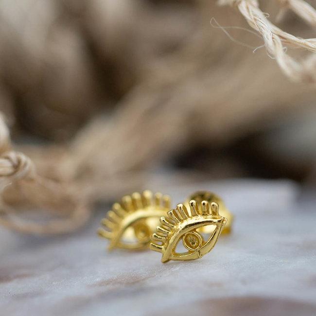 KARMA Symbols oorstekers goud oog