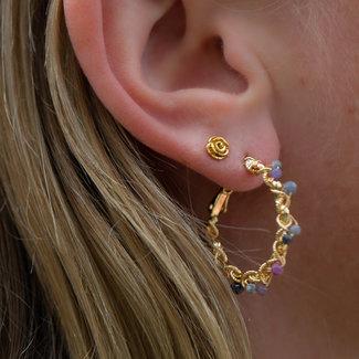 KARMA Symbols oorstekers roos