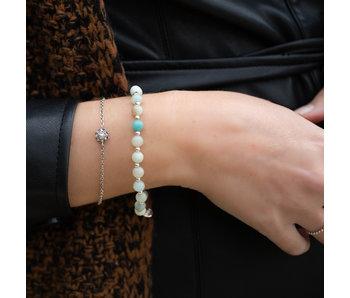 Zeeuws Zeeuwse knop armband echt zilver