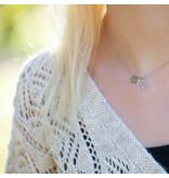 ZAG  Bijoux zilverkleur ketting met hart