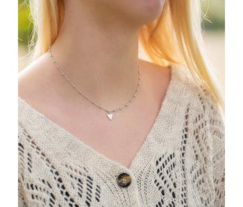 KARMA Karma Dots Necklace Triangle Silver