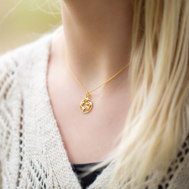 KARMA Karma Necklace Earth Gold