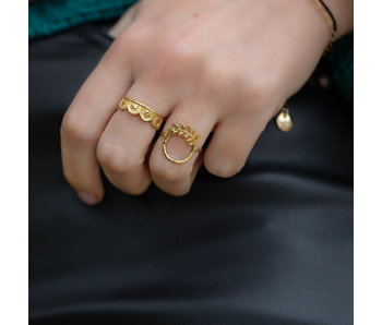 Beadle Gouden ringen stack party