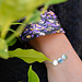 ZAG  Bijoux armband zilver met drie muntjes