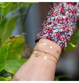 ZAG  Bijoux armband goud met ster