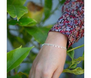 Biba armband sterretjes zilver