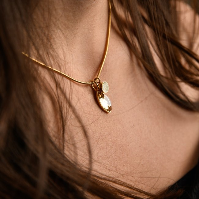 IXXXI Complete ketting set goud