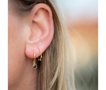 KARMA Goud oorbellen druppel of bolletjes