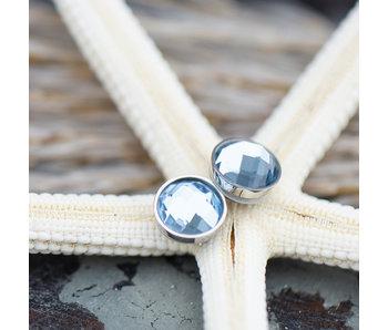 IXXXI Top part facet opaal light saffire zilver