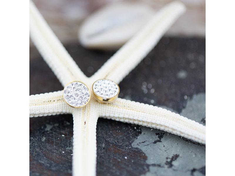 IXXXI top part crystal stones goud