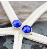 IXXXI top part zilver facet capri blue