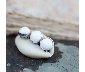 IXXXI top part zilver facet white