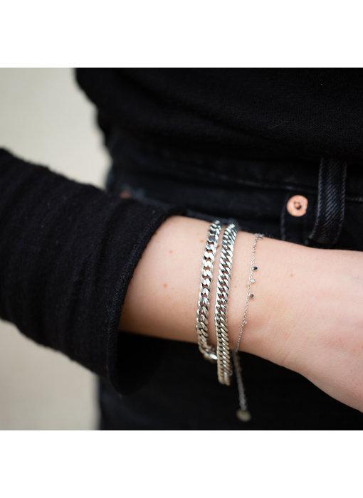 Biba Metalen armbanden zilver