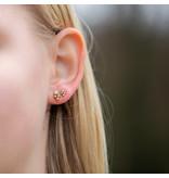 Go Dutch Label Bohemian goud oorstekers groot of klein