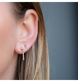 KARMA Zilver oorbellen staafje of bolletjes