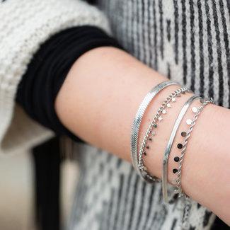 Beadle Zilver stalen armbanden