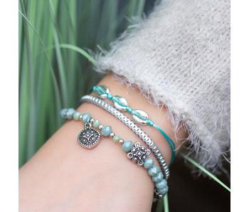 Biba Turquoise armbanden