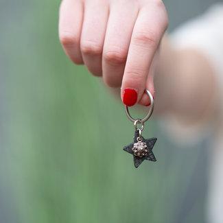 Zeeuws Sleutelhanger Zeeuwse knop ster