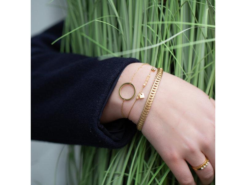ZAG  Bijoux Armbanden set goud