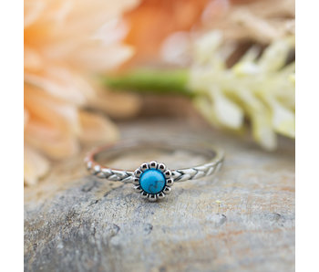 IXXXI Inspired Turquoise zilver