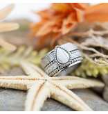 IXXXI Complete ixxxi ring witte druppel