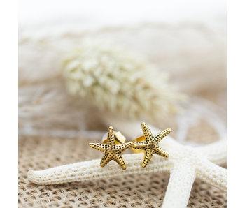 IXXXI Oorbellen zeester goud