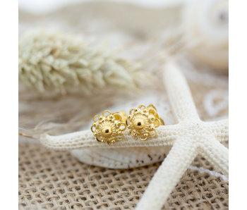 IXXXI Zeeuwse knop oorbellen goud
