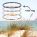 IXXXI aanschuif ring 'angular' 1mm