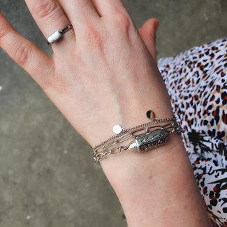 Beadle armbanden happy vibes en muntjes