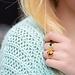 ZAG  Bijoux Gouden ringen met tijgeroog of onyx