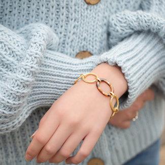 Biba Ringen armband goud