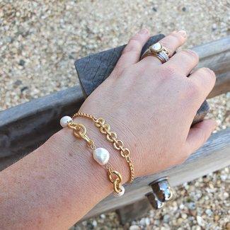Biba Matgoud armbandjes schakels of parels