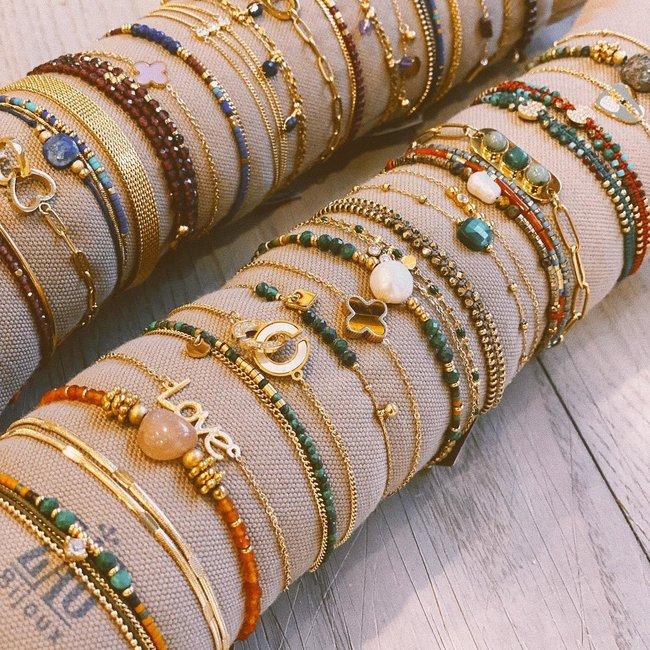 ZAG  Bijoux Goudkleurige armband ''love''