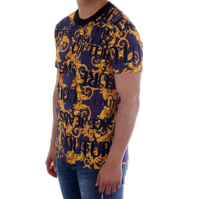 Versace Jeans Couture | T-shirt met print | B3GVA7SAS0630200