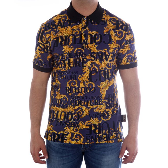 Versace Jeans Couture   Polo allover print