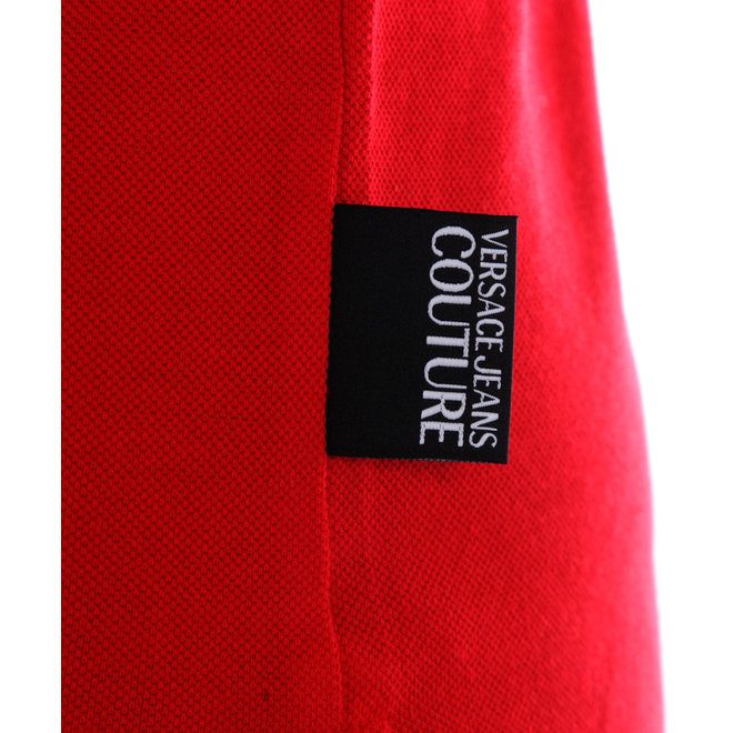 Versace Jeans Couture | Polo | Rood/Zwart |B3GVA7P536571537
