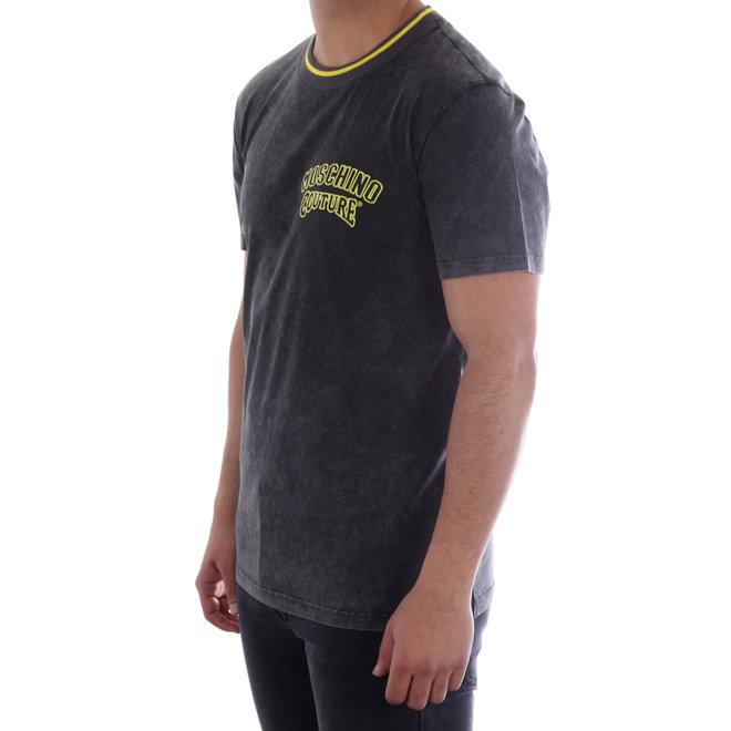 Moschino | T-shirt Moschino Couture | Grijs / Geel | A 0720  2041 1498