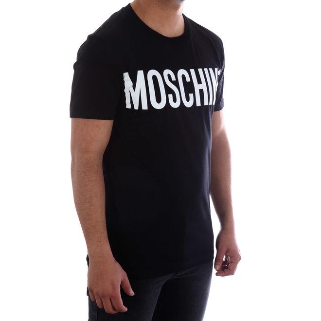 Moschino | T-shirt Mochino | Zwart / Wit | A 0705  2040 1555