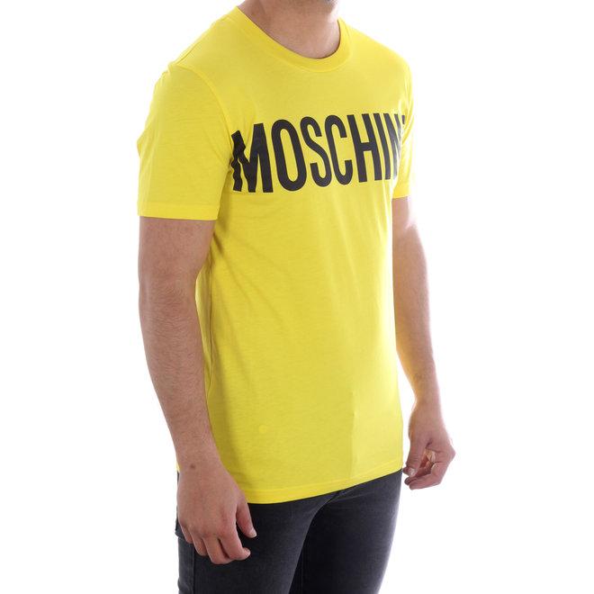 Moschino   T-shirt Moschino   Geel / Zwart   A 0705  2040 1031