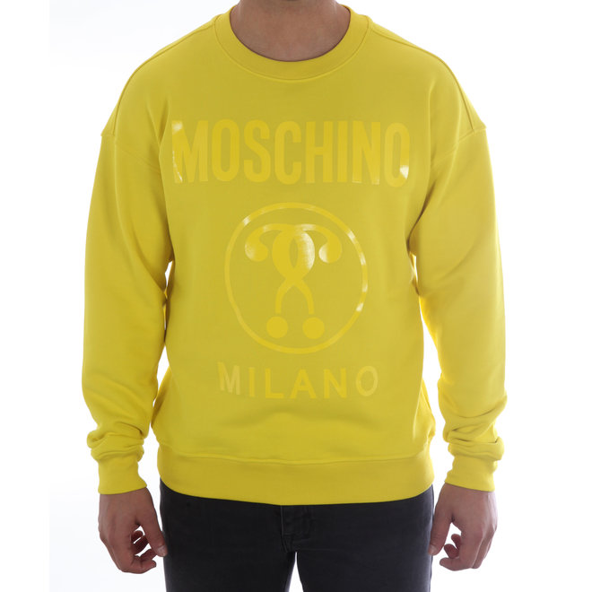 Moschino | Sweater Moschino Milano | Geel | A 1704  2027 31