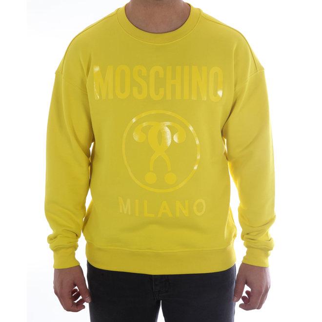 Moschino | Sweater Moschino Milano | Geel
